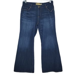 Seven7 Luxe Jeans Size 18 Bootcut Mid Rise